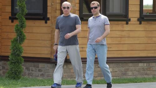 Tổng thống Nga, Mỹ phong độ với quần jeans - 13