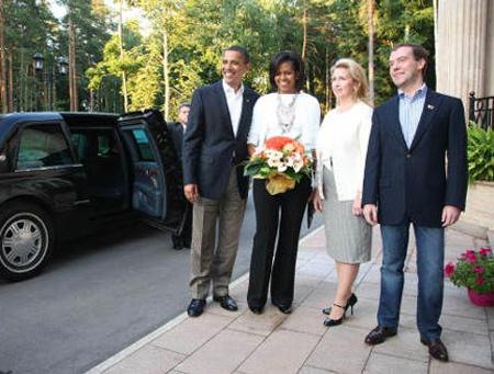 Tổng thống Nga, Mỹ phong độ với quần jeans - 14