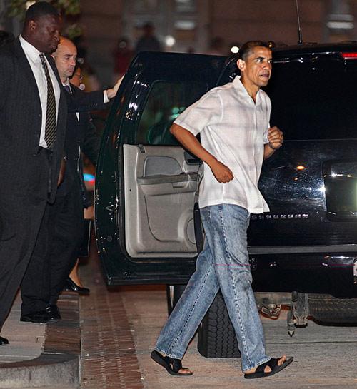 Tổng thống Nga, Mỹ phong độ với quần jeans - 3