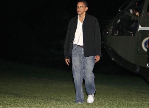 Tổng thống Nga, Mỹ phong độ với quần jeans - 6