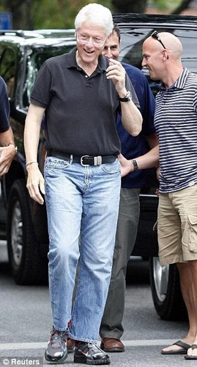 Tổng thống Nga, Mỹ phong độ với quần jeans - 7