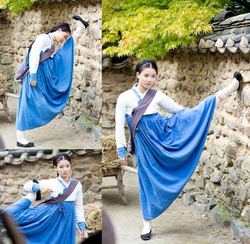 Sao nhí hot nhất xứ Hàn làm kỹ nữ - 5