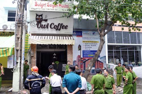 TP.HCM: Cháy khách sạn, một người nước ngoài tử vong - 1