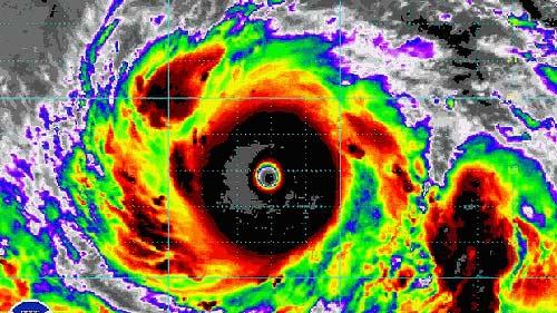 Siêu bão mạnh tương đương Haiyan sắp đổ bộ vào Nhật - 1