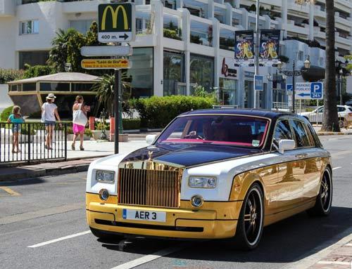 Rolls-Royce Phantom đặc biệt nhất hành tinh - 1