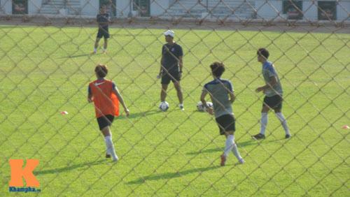 """U19 Hàn Quốc """"mài sắc 2 vũ khí"""" để đối phó U19 VN - 8"""