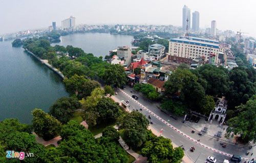 Vẻ đẹp trên con đường lãng mạn nhất Hà Nội - 1