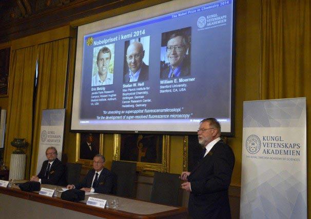 Giải Nobel Hóa học 2014 cho kính hiển vi siêu nét - 1