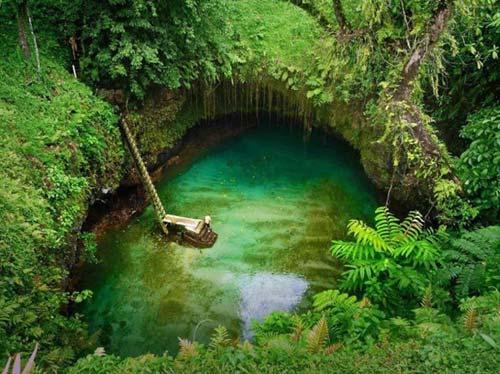 Thử cảm giác mạnh ở hồ bơi tự nhiên đẹp nhất thế giới - 4