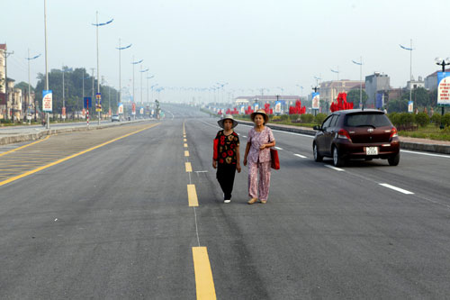 Hà Nội: Thông xe cầu vòm thép trên đường 5 kéo dài - 13