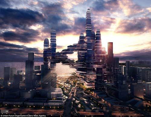 Siêu đô thị giữa lưng chừng trời - 1