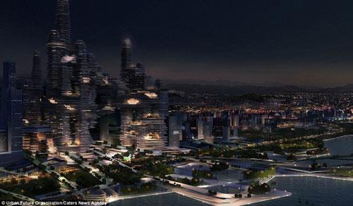 Siêu đô thị giữa lưng chừng trời - 4