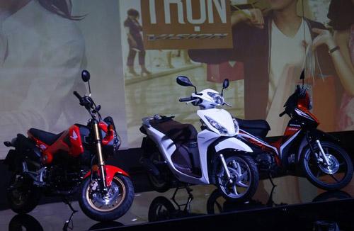 Honda Vision 2014 ra mắt, giá 29,9 triệu đồng - 4
