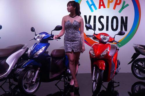 Honda Vision 2014 ra mắt, giá 29,9 triệu đồng - 1