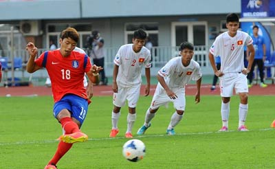 TRỰC TIẾP U19 VN - U19 Hàn Quốc: Đẳng cấp chênh lệch (KT) - 16