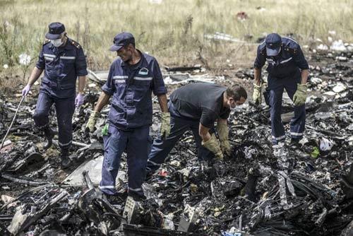 MH17: Hành khách có thời gian đeo mặt nạ dưỡng khí - 2