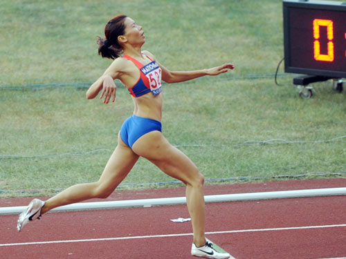 """Thể thao Việt Nam: Khi các """"nữ hoàng"""" hụt chân - 1"""
