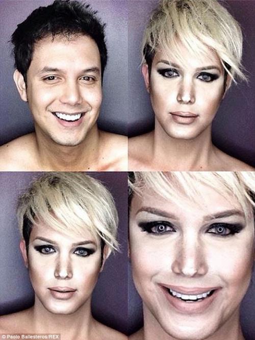 Màn giả gái siêu đẳng của sao truyền hình thực tế Philippines - 2