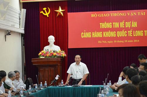 Bộ GTVT giải thích lý do xây dựng sân bay Long Thành - 1