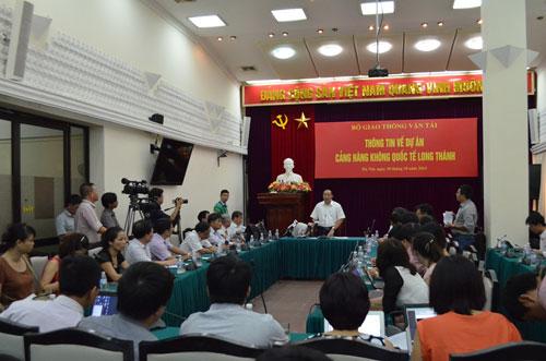 Bộ GTVT giải thích lý do xây dựng sân bay Long Thành - 2