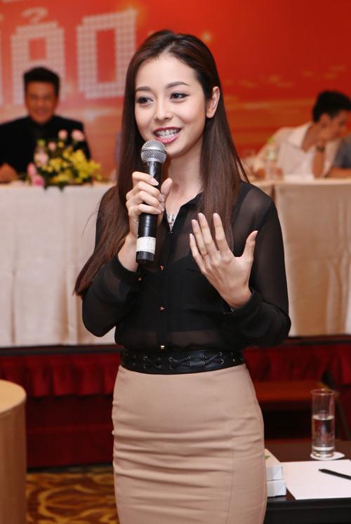 Jennifer Phạm thử sức ca hát tại Cặp đôi hoàn hảo - 3
