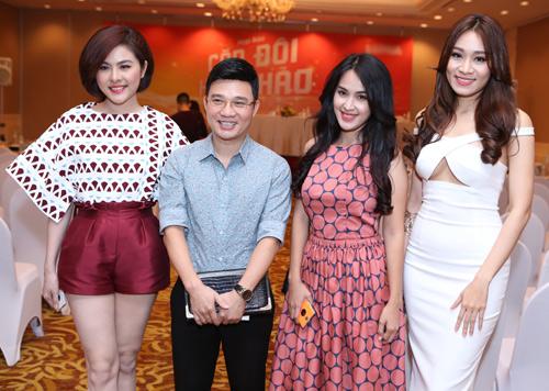 Jennifer Phạm thử sức ca hát tại Cặp đôi hoàn hảo - 12