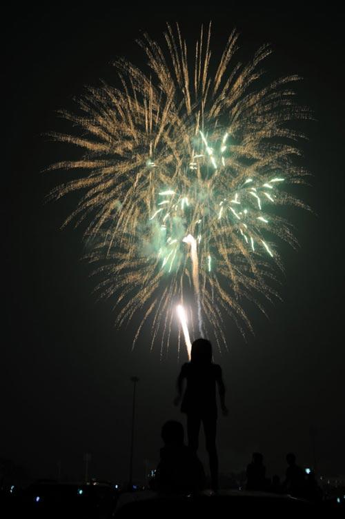 Pháo hoa rực sáng trên bầu trời Thủ đô - 15