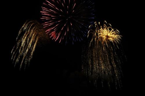 Pháo hoa rực sáng trên bầu trời Thủ đô - 17