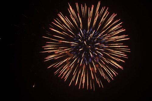 Pháo hoa rực sáng trên bầu trời Thủ đô - 18
