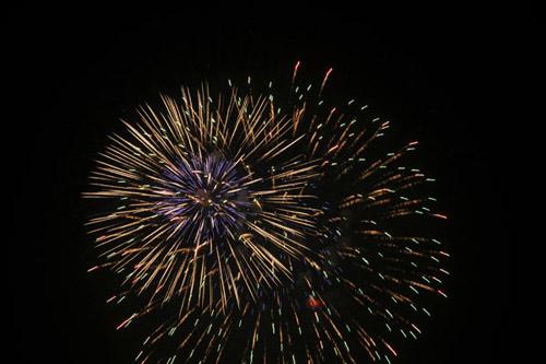Pháo hoa rực sáng trên bầu trời Thủ đô - 19