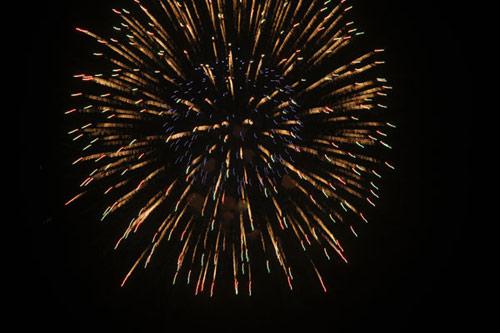 Pháo hoa rực sáng trên bầu trời Thủ đô - 20