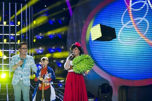 """Bố con Minh Thuận khiến khán giả """"cười nghiêng ngả"""" - 5"""
