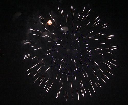 Pháo hoa rực sáng trên bầu trời Thủ đô - 23