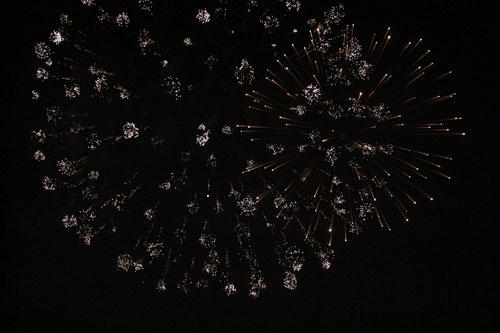 Pháo hoa rực sáng trên bầu trời Thủ đô - 26