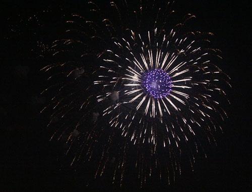 Pháo hoa rực sáng trên bầu trời Thủ đô - 25