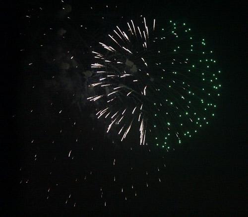Pháo hoa rực sáng trên bầu trời Thủ đô - 22