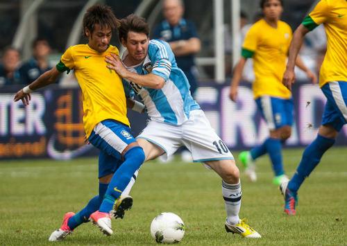 Brazil-Argentina: Quần hùng tụ hội, Neymar đấu Messi - 1