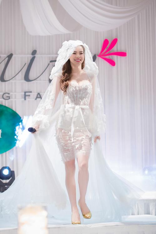 Hà Hồ làm cô dâu gợi cảm - 5