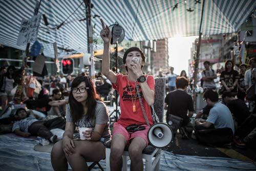 Hong Kong: Sinh viên tiếp tục rầm rộ chiếm trung tâm - 2