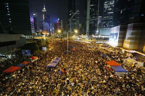 Hong Kong: Sinh viên tiếp tục rầm rộ chiếm trung tâm - 3