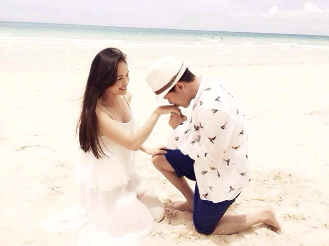 5 màn cầu hôn đặc sắc nhất làng mẫu Việt năm 2014 - 6