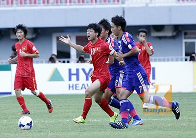 TRỰC TIẾP U19 Việt Nam - U19 Nhật Bản: Tiếc nuối (KT) - 15