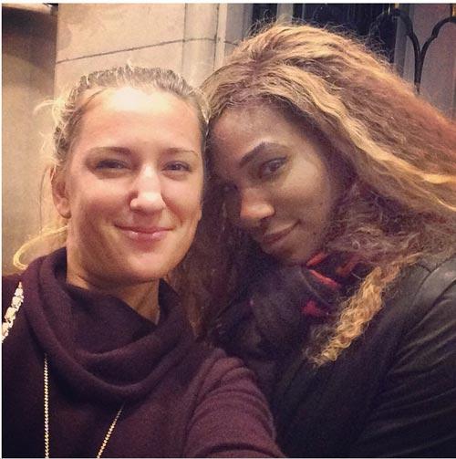 Serena chọn Azarenka làm bạn thân mới - 1