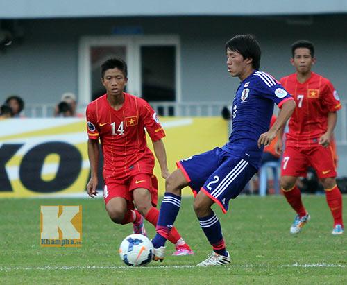 U19 Việt Nam – U19 Nhật Bản: Chiến đấu hết mình - 1
