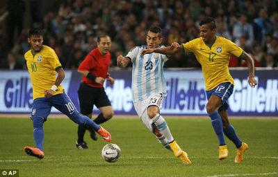 TRỰC TIẾP Brazil - Argentina: Đòn trừng phạt (KT) - 6