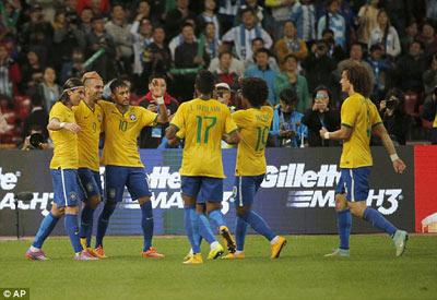 TRỰC TIẾP Brazil - Argentina: Đòn trừng phạt (KT) - 5