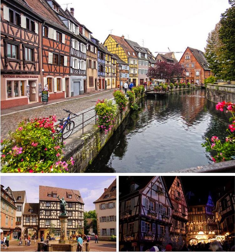 3. & nbsp;Colmar, France  Là một trong những thị trấn thơ mộng nhất nước Pháp, Colmar & nbsp;gợi nhớ đến vẻ đẹp của vùng đất  & nbsp;huyền bí & nbsp;trong câu truyện  Người đẹp và quái vật .