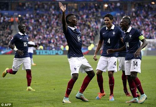 Pháp - BĐN: Cánh én Ronaldo - 1