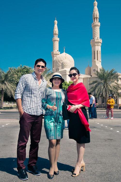 Thủy Tiên, Noo Phước Thịnh thích thú du ngoạn Dubai - 6