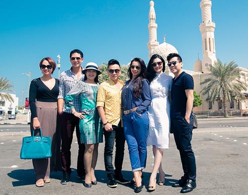 Thủy Tiên, Noo Phước Thịnh thích thú du ngoạn Dubai - 8